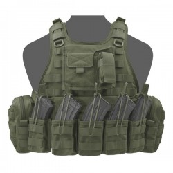 RICAS Compact AK Plate Carrier - Olive Drab