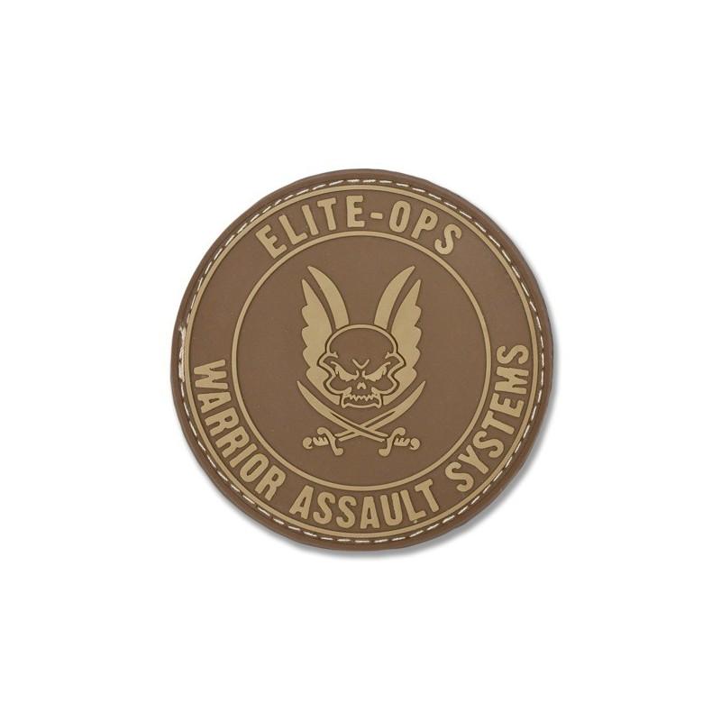 Round Rubber Logo Shield - Dark Earth
