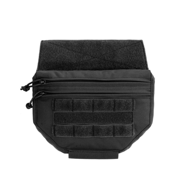 Drop Down Utility Pouch - Black
