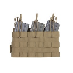 RPC Removable Triple MOLLE Open Pouch Panel - Coyote Tan