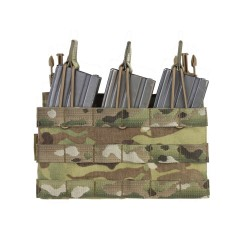 RPC Removable Triple MOLLE Open Pouch Panel - Multicam