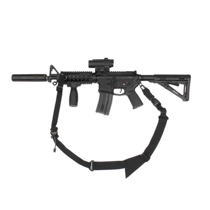 Two Point Weapon Sling - Black