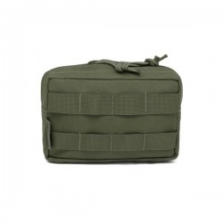 Small Horizontal MOLLE Pouch - OD Green