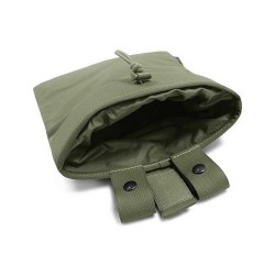 Large Roll Up Dump Pouch - OD Green