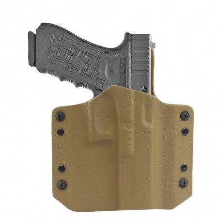 ARES Kydex Holster Glock-17 - Coyote Tan