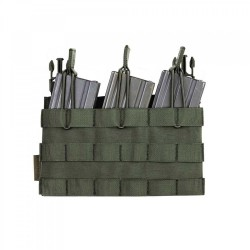 RPC Removable Triple MOLLE Open Pouch Panel - OD Green