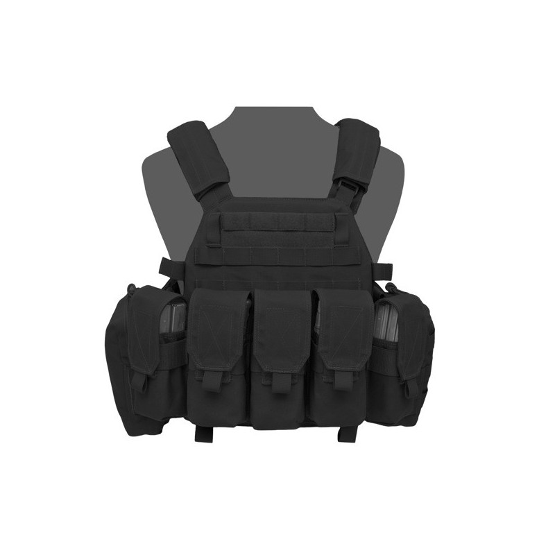 DCS M4 Plate Carrier- Black