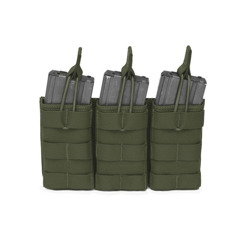 Triple MOLLE Open M4 5.56mm - OD Green