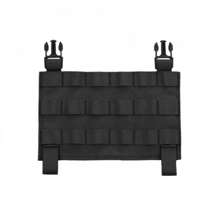 Recon Plate Carrier MOLLE Front Panel - Black
