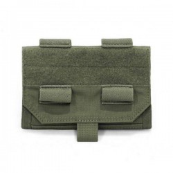 Forward Opening Admin Pouch - OD Green