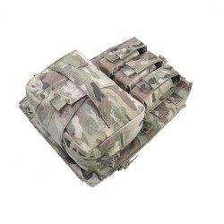 Warrior Assault System Assaulter Back Panel - MultiCam