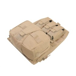 Warrior Assaulter Back Panel - Tan