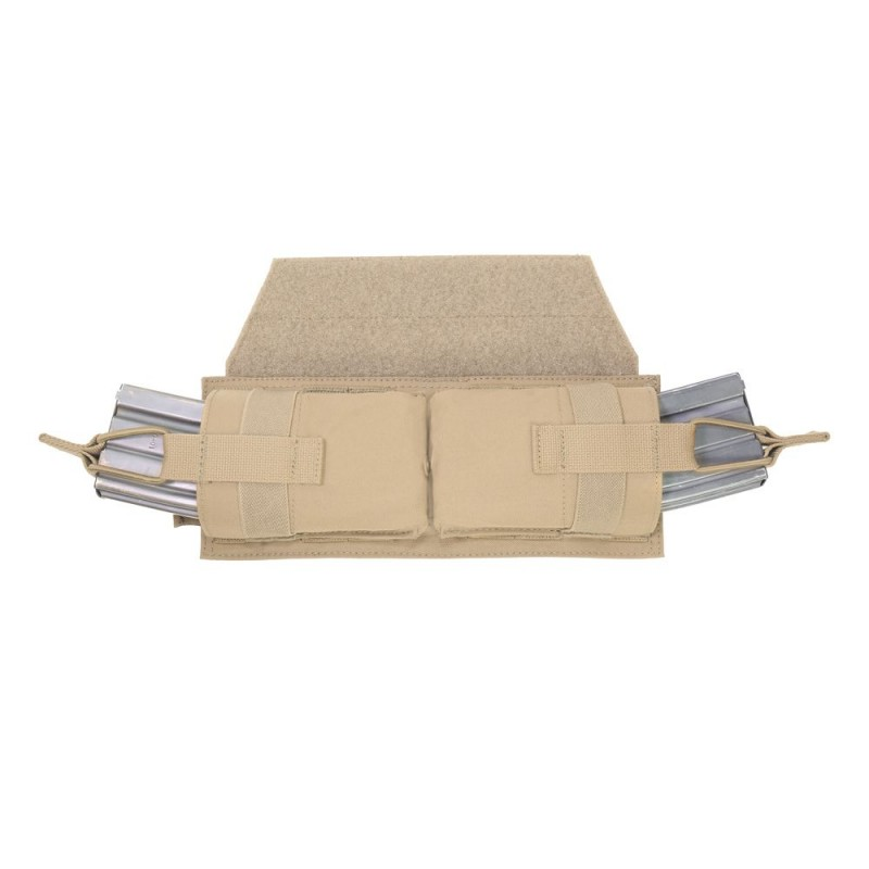 Warrior Assault Systems Horizontal Velcro Mag Pouch - Coyote Tan