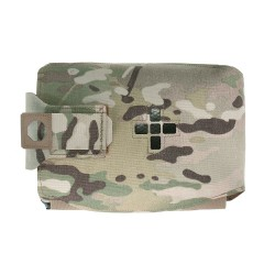 Warrior Assault System Large Horizontal Individual First AID Kit - MultiCam
