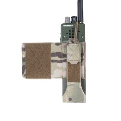 Warrior Assault System Wing Velcro MBTIR/HARRIS Radio Pouch Left Side - MultiCam