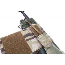 Warrior Assault System Wing Velcro MBTIR/HARRIS Radio Pouch Left Side - MultiCam