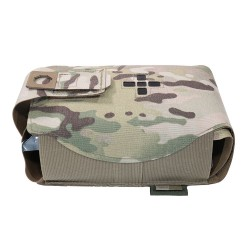 Warrior Assault System Small Horizontal Individual First Aid Kit - MultiCam