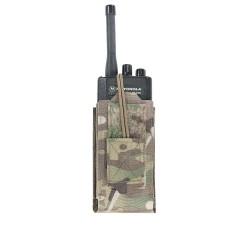 Warrior Assault System Adjustable Radio Pouch - MultiCam