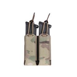 Warrior Assault System Double Bungee Pistol Pouch - MultiCam