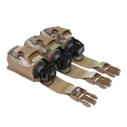 Warrior Assault System Triple 40mm Flash Bang Pouch - MultiCam