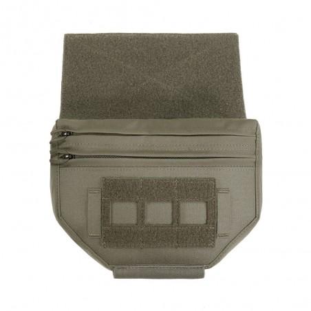 Laser Cut Drop Down Velcro Utility Pouch - RG