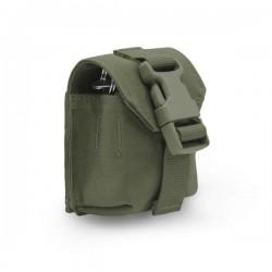 Single Frag Grenade Pouch - Generation 2 - OD Green Warrior Assault Systems