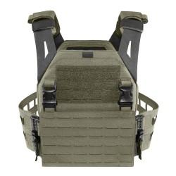 LPC Laser Cut Low Profile Plate Carrier V2 Ladder Sides - Ranger Green - Warrior Assault Systems