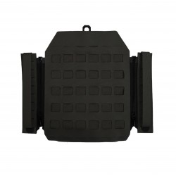 Laser Cut Assaulters Back Panel - Black