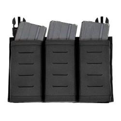 Detachable Triple Snap Mag Panel – Black - Warrior Assault Systems