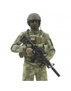 RICAS Compact Plate Carrier & Combos A-TACS FG