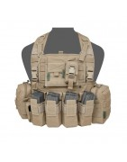 901 Chest Rig Coyote Tan
